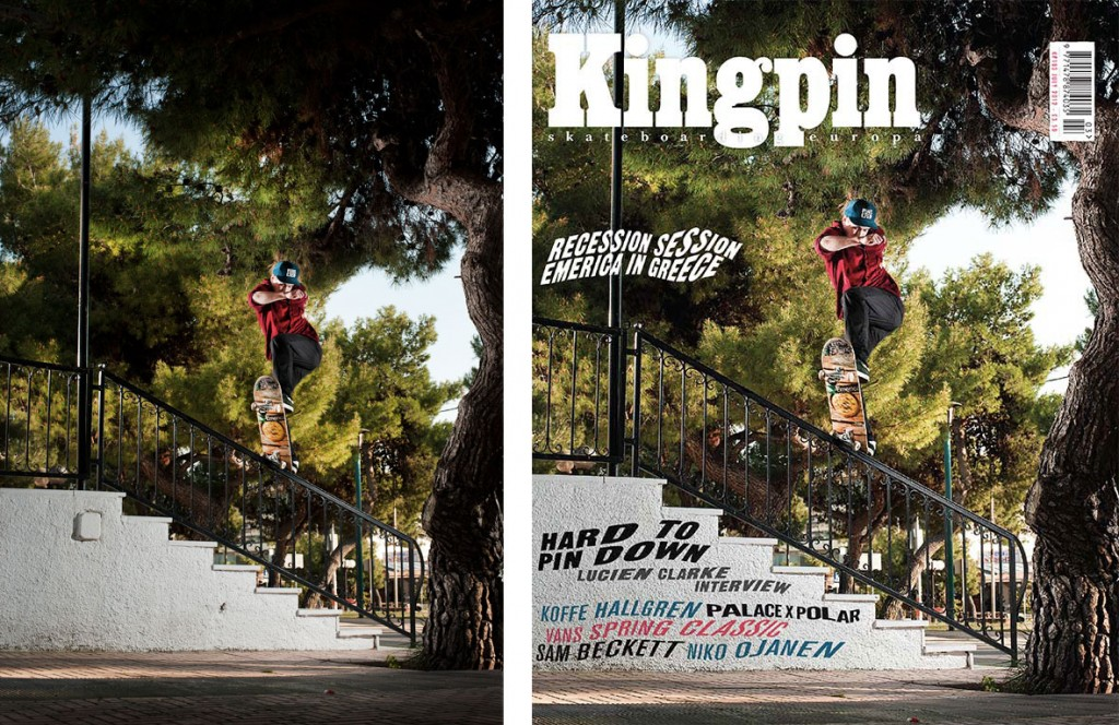 Sami Miettinen, Athens Greece. For Kingpin Magazine