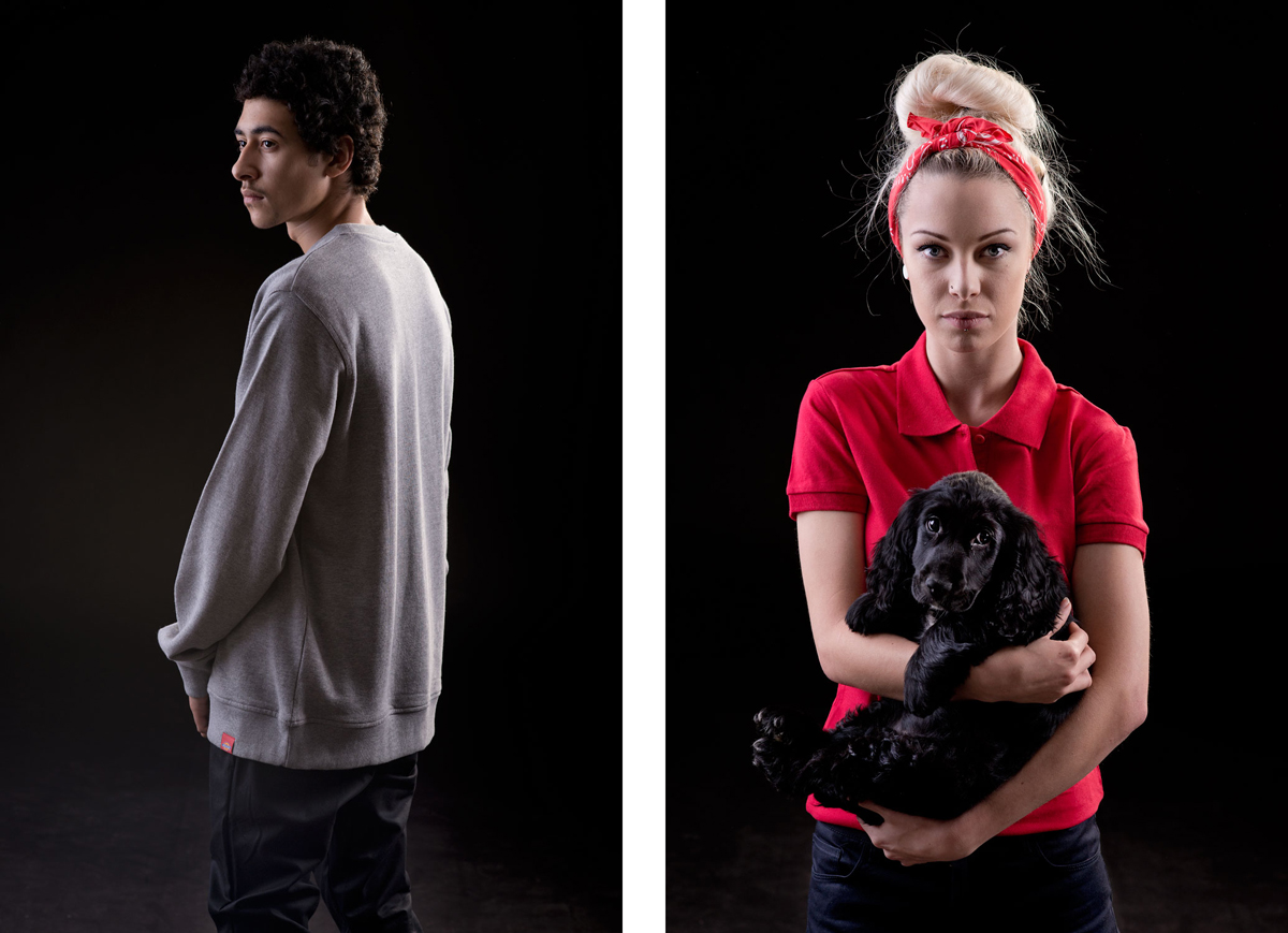 Katie and Tyrone. 2012 Client: Dickies Clothing
