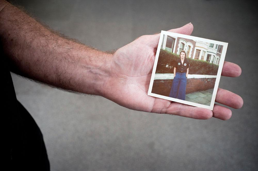 Roy with Polaroid