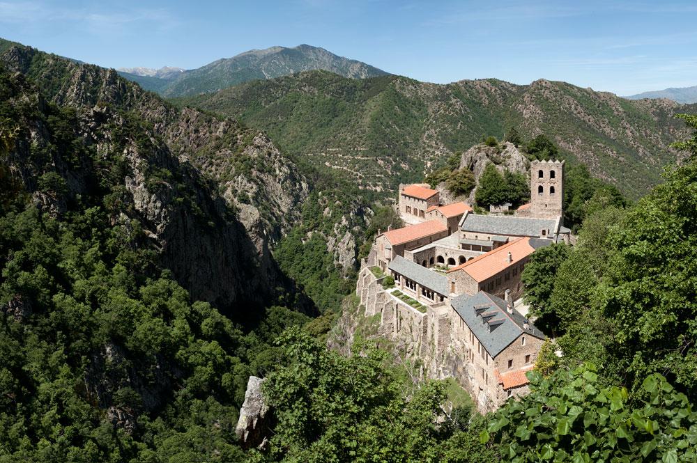 Martin Du Canigou Abbey, Pyrenees France.