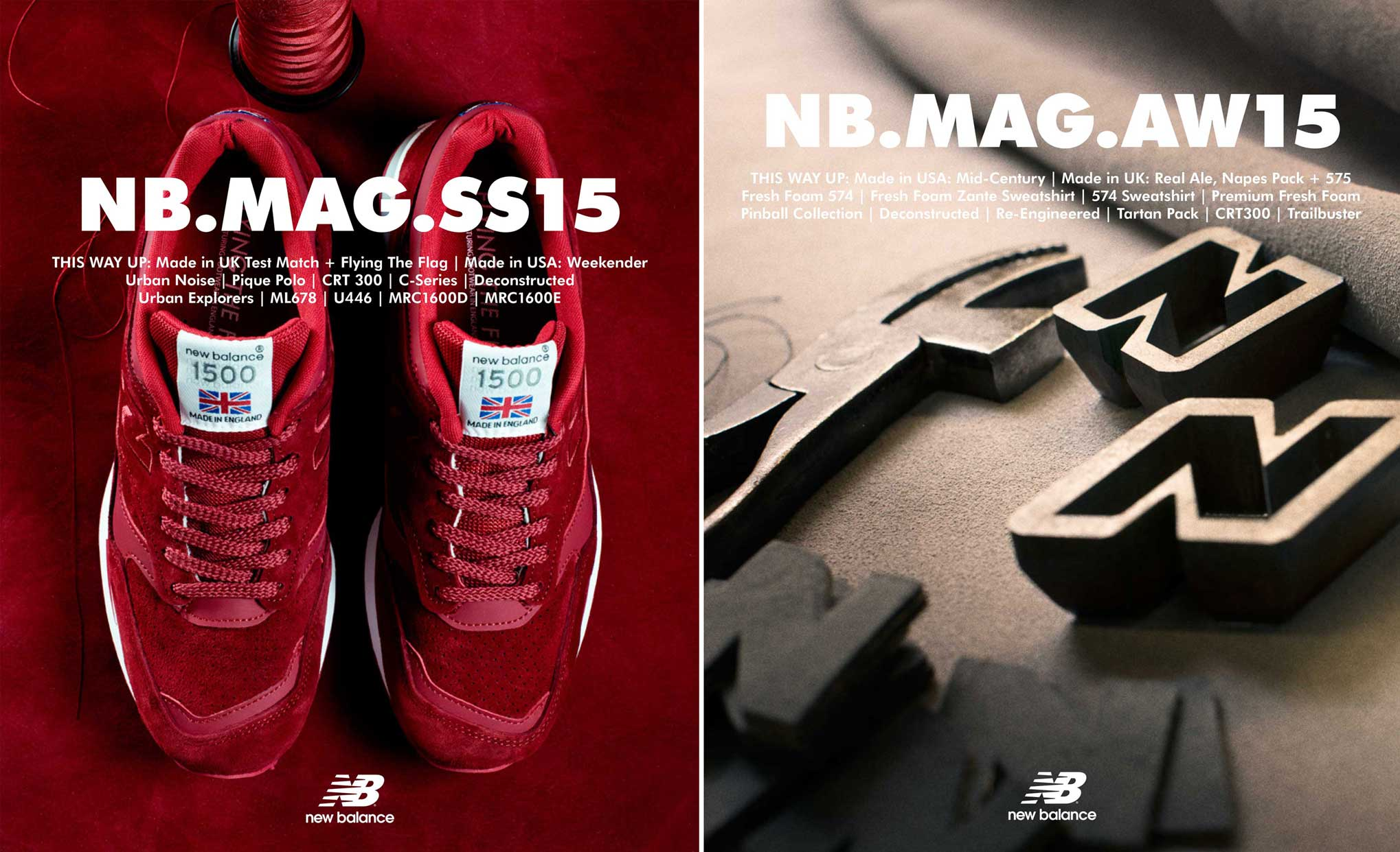 New Balance Journal, Covers