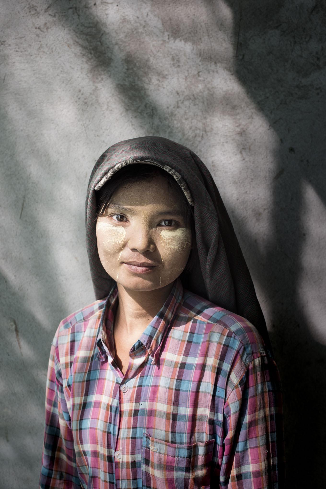 Construction Worker, Myanmar Oxfam